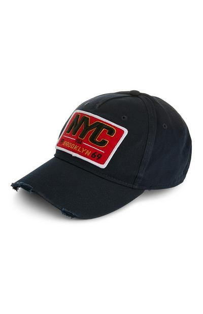 NYC Black Baseball Cap