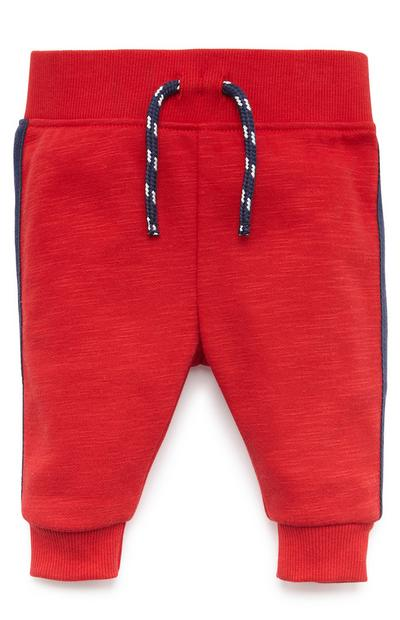 Baby Boy Red Joggers