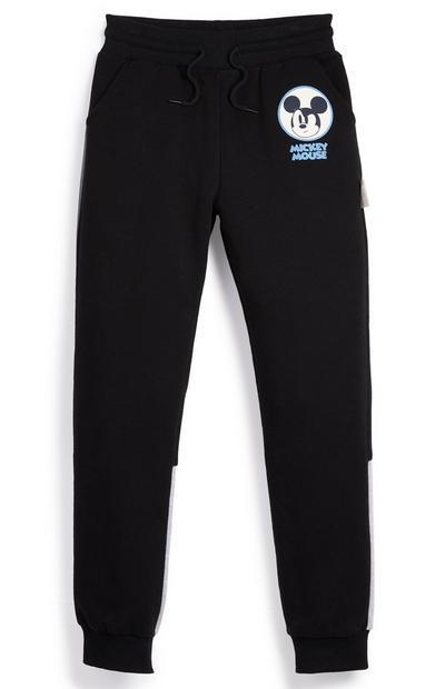 Donkerblauwe joggingbroek Primark Cares met Disney Mickey Mouse-logo voor jongens