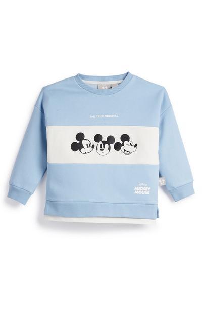 Pulover z okroglim ovratnikom za mlajše fante Disney Mickey Primark Cares