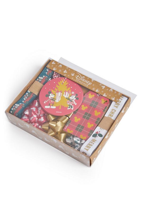 Accesorios para envolver regalos de Navidad de Mickey y Minnie