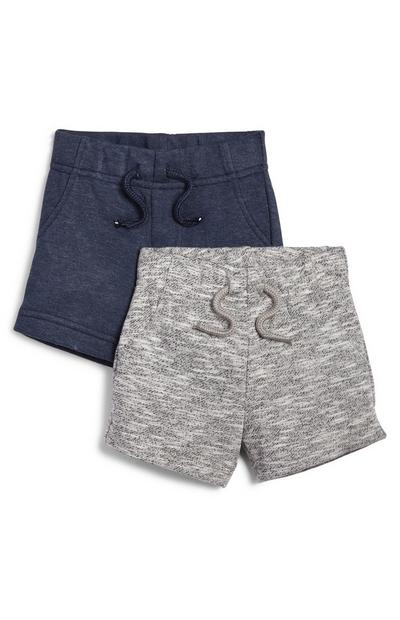 Baby Boy Leisure Shorts 2 Pack