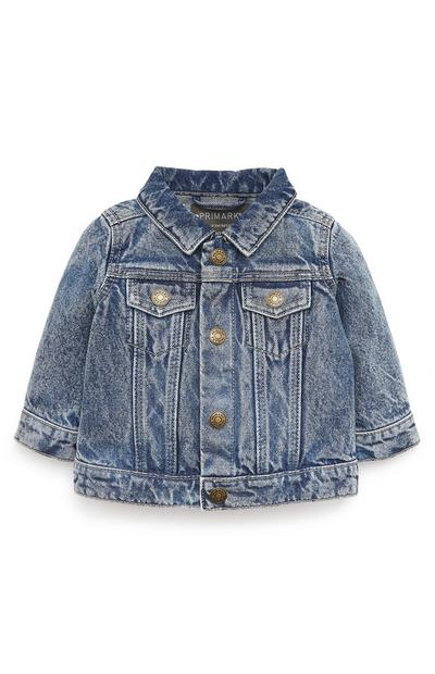 Baby Boy Blue Wash Denim Jacket