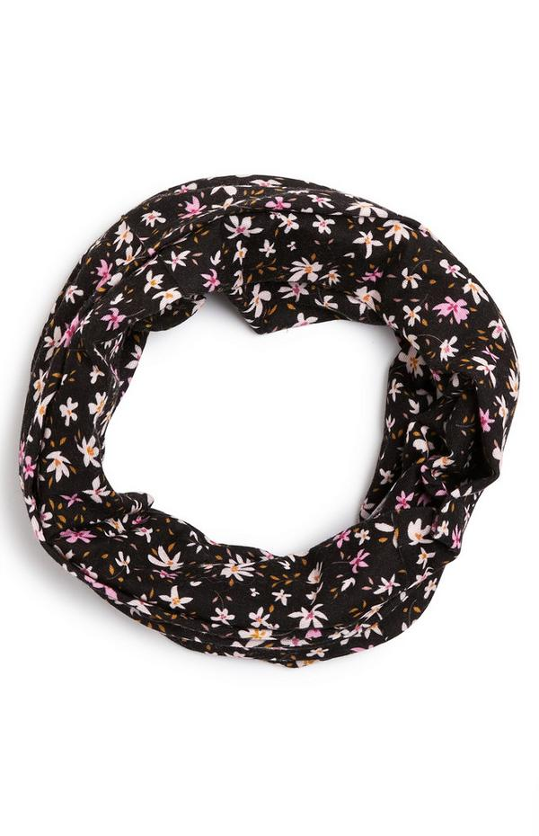 Floral Print Multiway Infinity Scarf