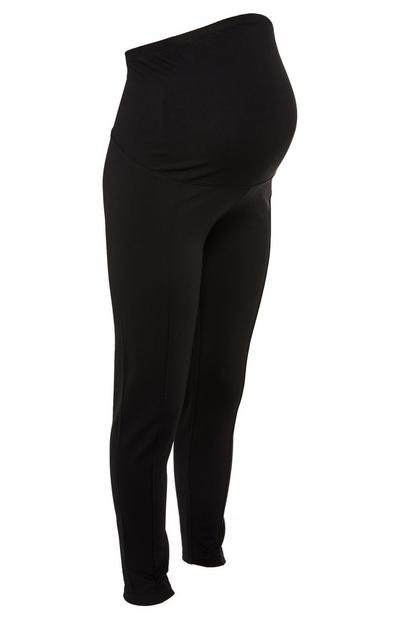 Legging taille haute en point de rome Maternité