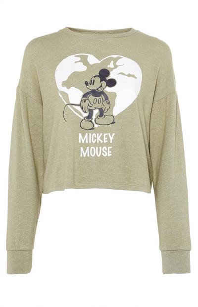 Haut court kaki Primark Cares Disney Mickey