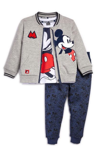 "3-teiliges ""Disney Micky Maus"" Outfit für Babys (J)"