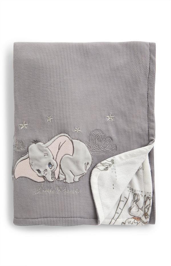 Siva odeja za dojenčke Disney Dumbo