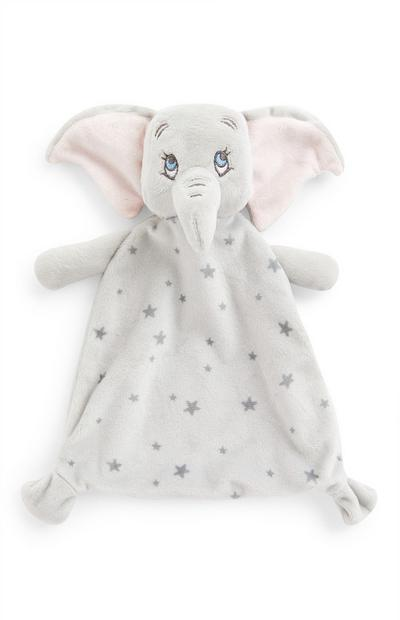 Grey Disney Dumbo Baby Comforter