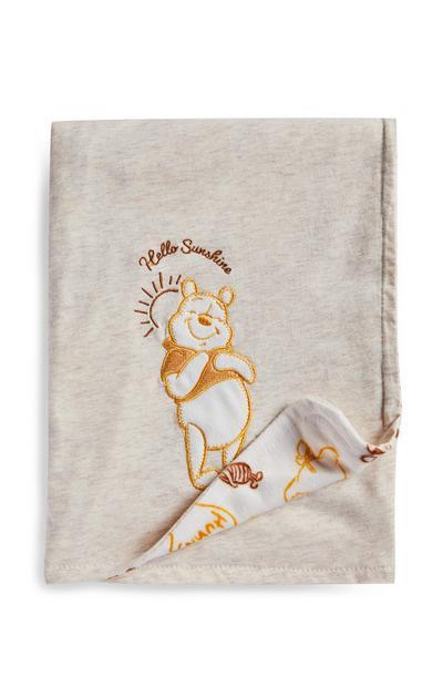 Winnie The Pooh Grey Blanket