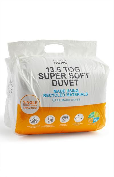 13.5 Tog Super Soft Duvet Single