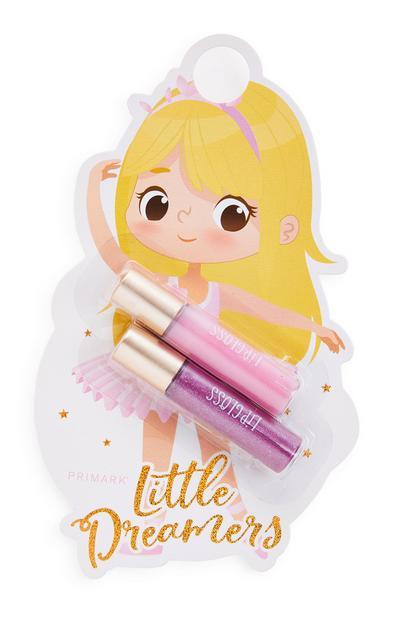 Little Dreamers Lip Gloss 2 Pack