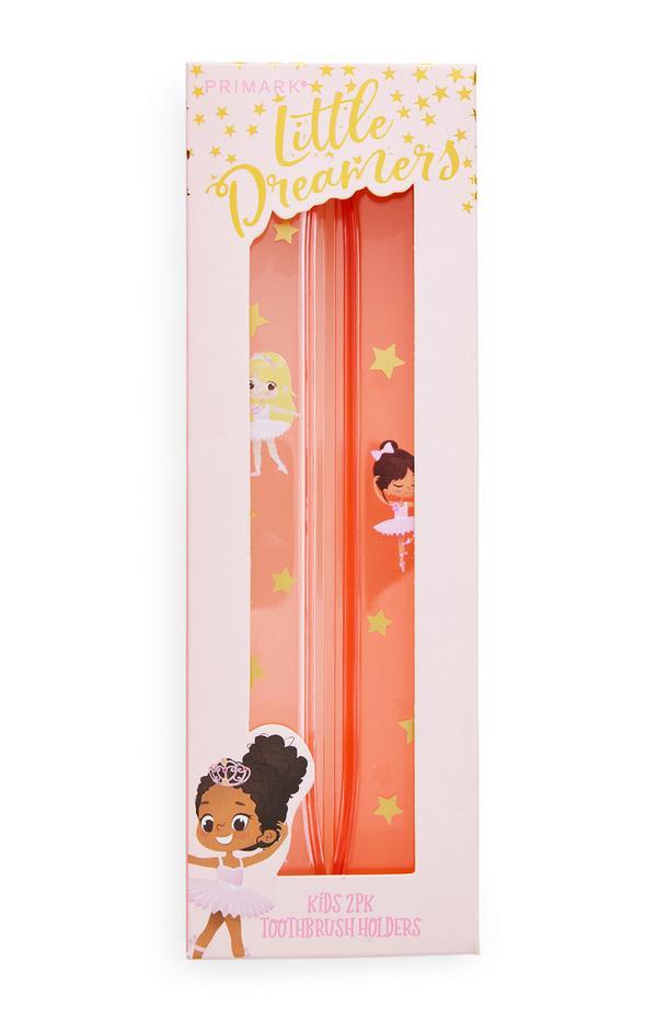 Little Dreamers Toothbrush Holders 2 Pack