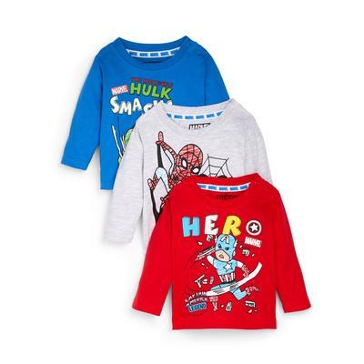 3-Pack Baby Boy Marvel Avengers T-Shirts