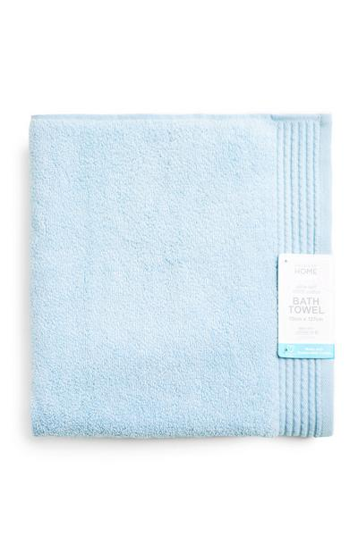 Telo da bagno blu ultra morbido