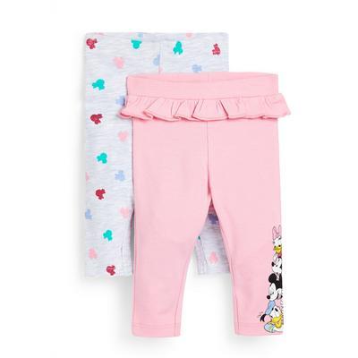 2-Pack Baby Girl Disney Minnie Mouse Leggings