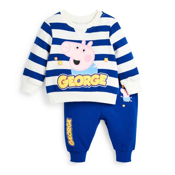 Younger Boy Peppa Pig George 2-Piece Leisure Set