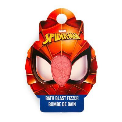 Effervescente da bagno rosso Spiderman