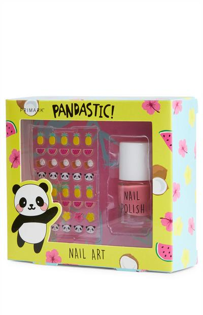 Kit per nail art Pandastic
