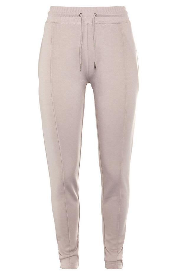 Pastel Pink Tailored Joggers