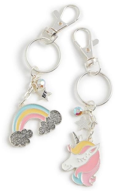 Unicorn Best Friend Keyrings