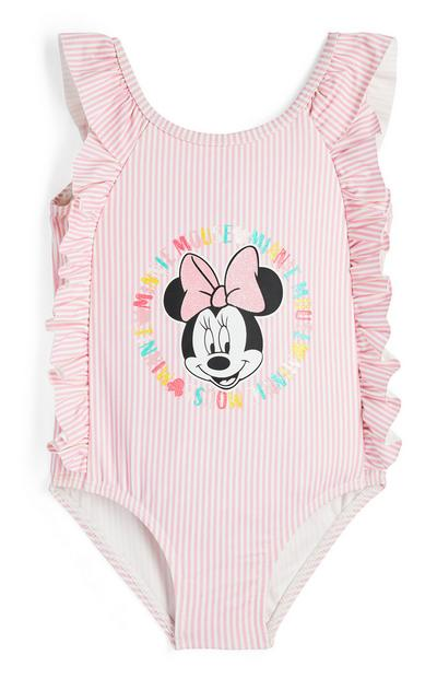 Maillot de bain rose Disney Minnie Mouse bébé fille