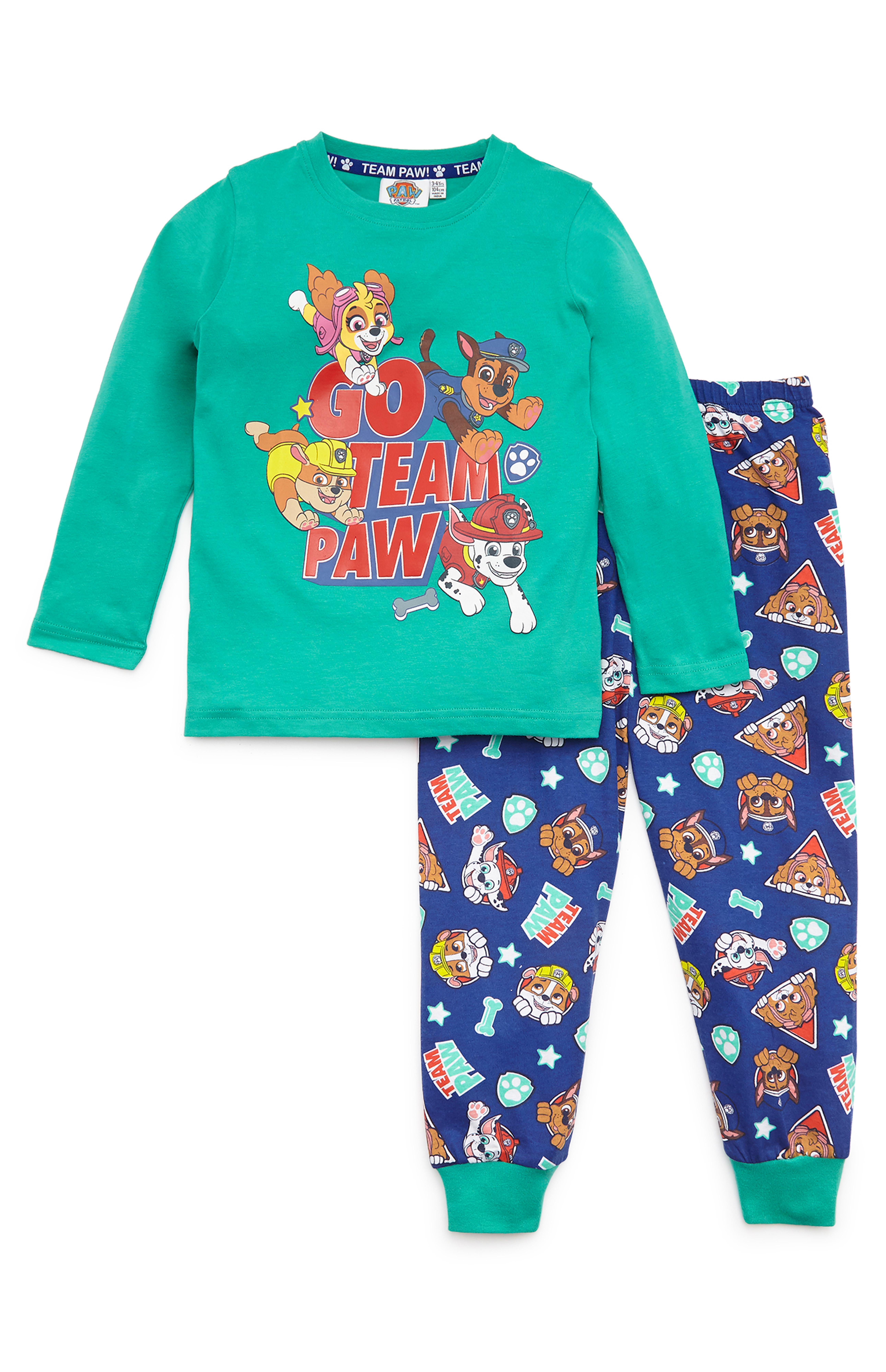 Neuf Primark Spiderman Garçons Pyjama Pyjama Set en cadeau Box-Taille 104
