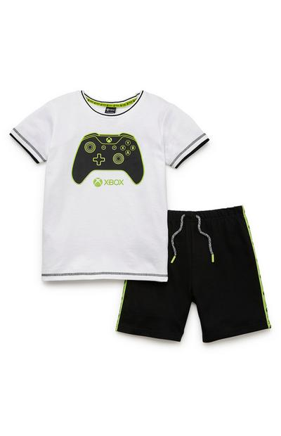 Older Boy Xbox T-Shirt And Shorts Set
