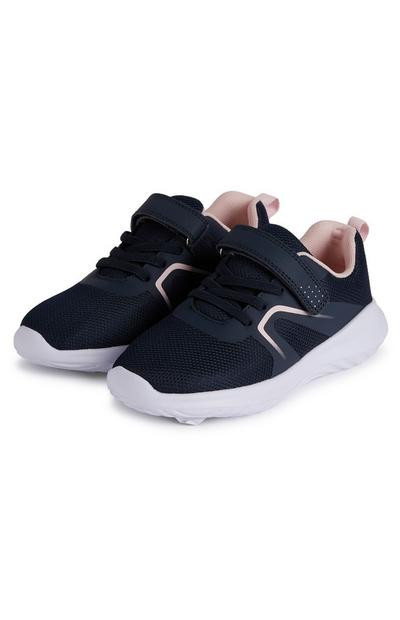 Younger Girl Navy Value Phylon Sole Trainers
