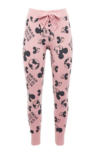Leggings de pijama rosa de Mickey Mouse de Primark Cares featuring Disney