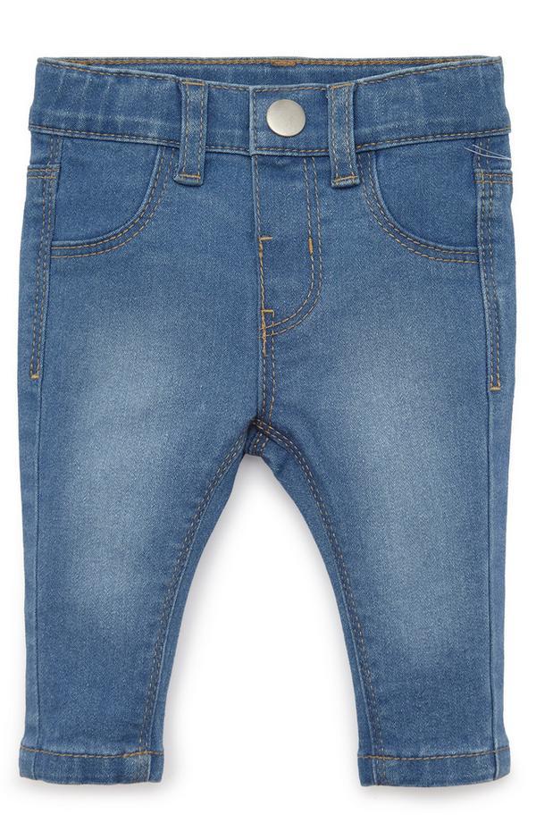 Blaue Jeans für Babys (M)
