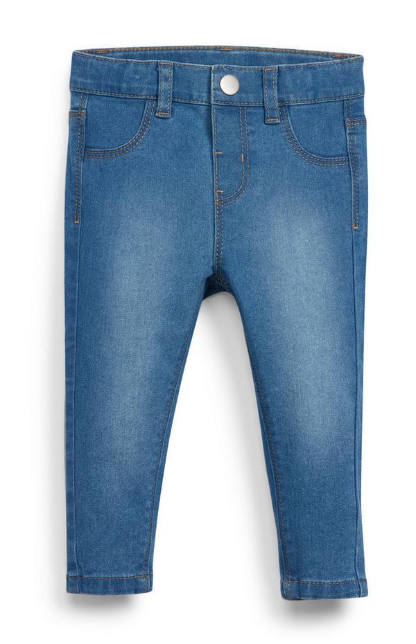 Blaue Slim-Fit-Jeans für Babys (M)