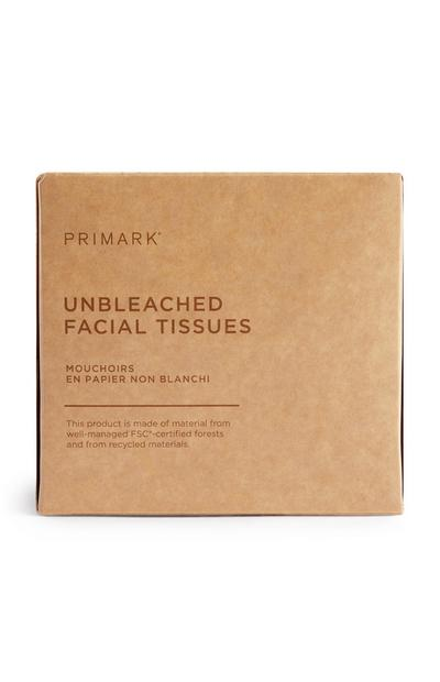 Wellness Unbleached Facial Tissues