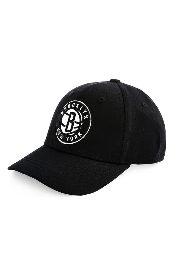 Cappellino da baseball nero NBA Brooklyn Nets