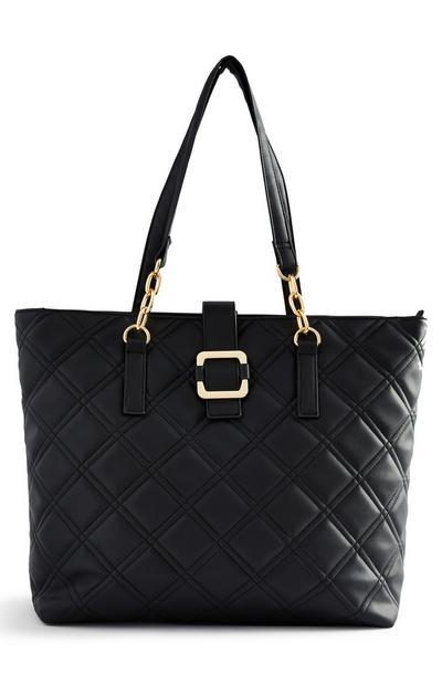 Black Quilted Handbag