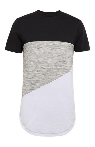 Endless Diagonal Cut T-Shirt