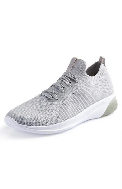Grey Functional Sock Trainers
