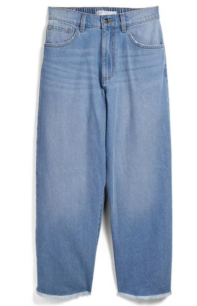 Older Girl Halo Denim Wide Leg Jeans