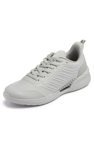 Grey Sustainable Sports Trainers