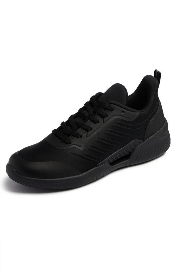 Black Sustainable Sports Sneakers