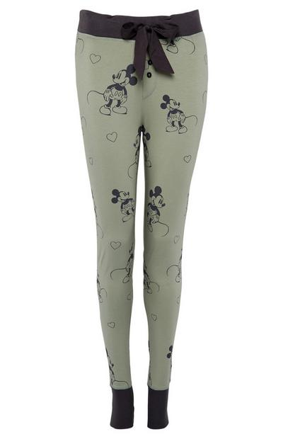 Leggings caqui Primark Cares featuring Disney Mickey