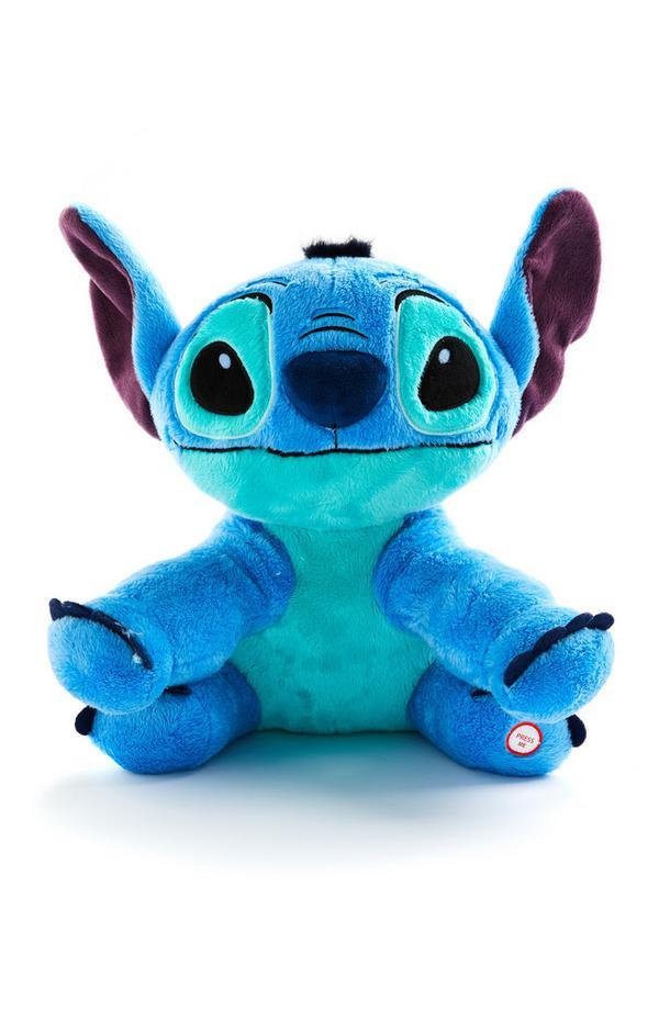 Modra velika plišasta igrača Disney Lili in Žverca