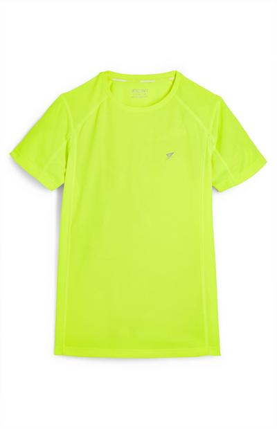 Older Boy Neon Lime Active T-Shirt