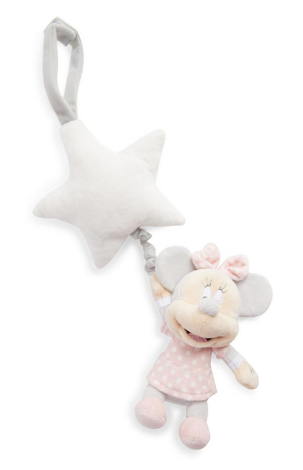 Peluche de felpa de Minnie Mouse de Disney para la cuna