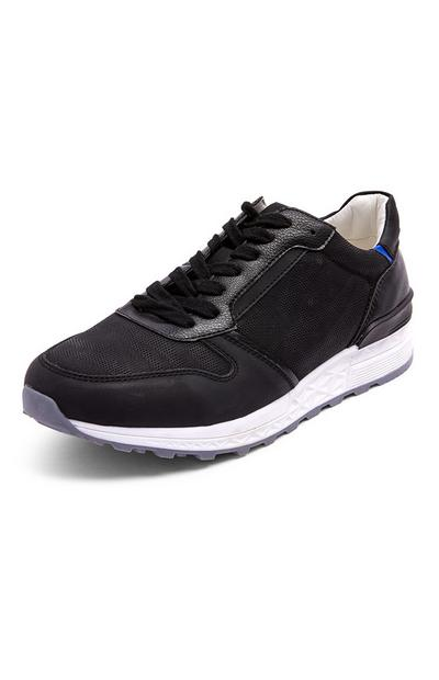 Black Hybrid Casual Trainers