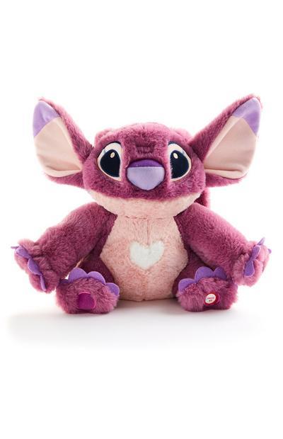 """Großes rosa """"Disney Lilo & Stitch Angel"""" Plüschtier"""