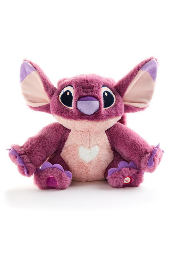 Pink Large Disney Lilo And Stitch Angel Plush
