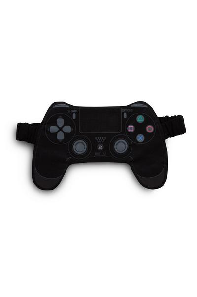 Black PlayStation Sleep Mask