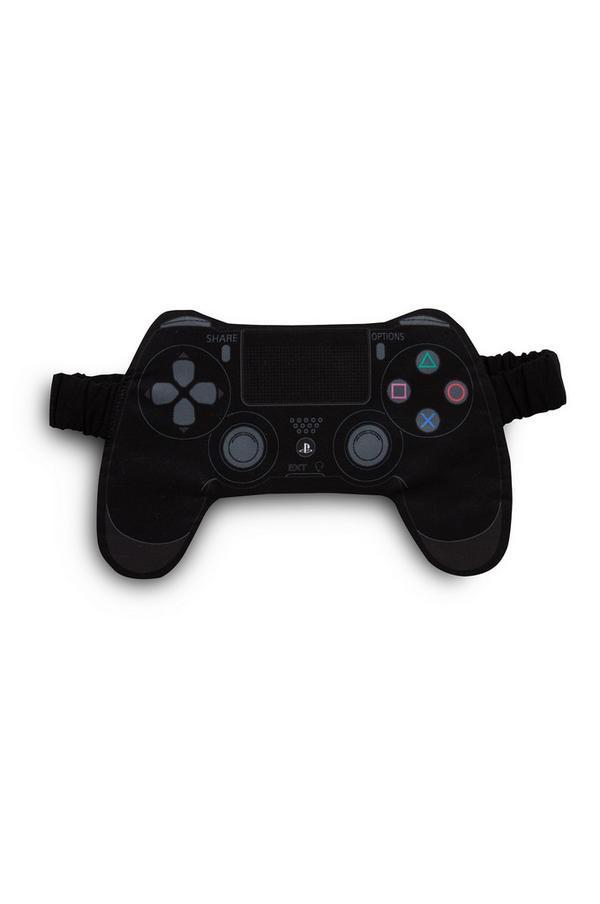 Black PlayStation Sleep Mask