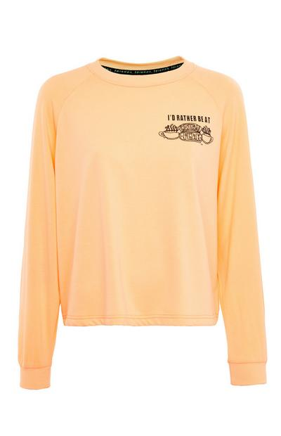 Perzikroze loungesweater Friends Central Perk